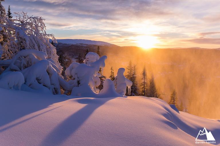 Darren Hamlin Fotograf Are Ski